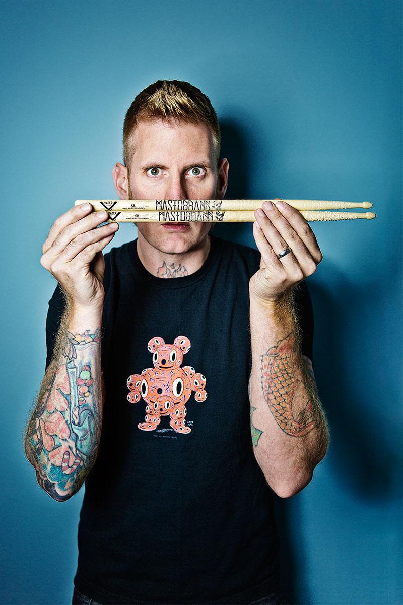 Drum Magazine Brann Mastadon