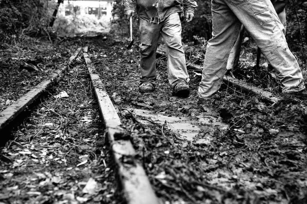 BeltLine NE Corridor Rail Removal 11.11.09