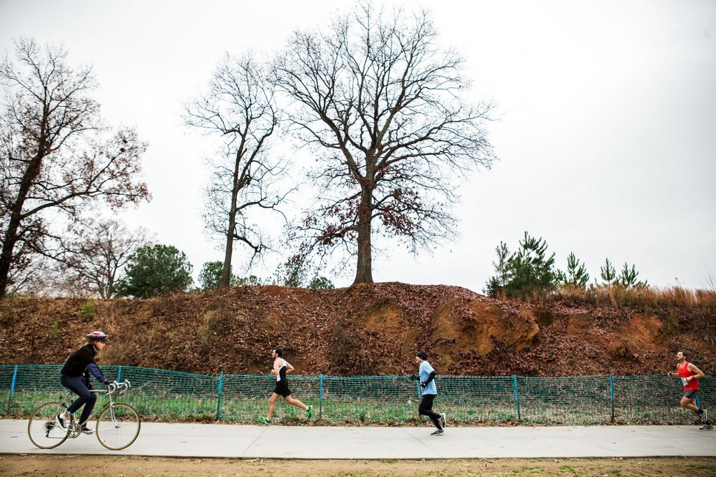 Atlanta BeltLine East Side 10K tree