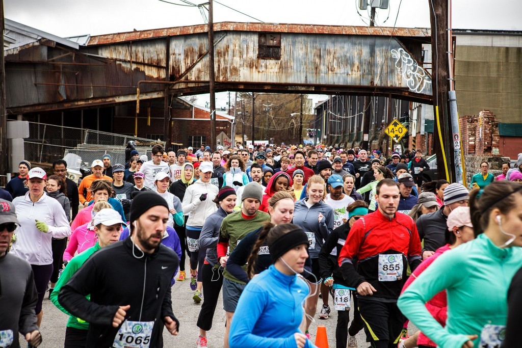 Atlanta BeltLine East Side 10K full street