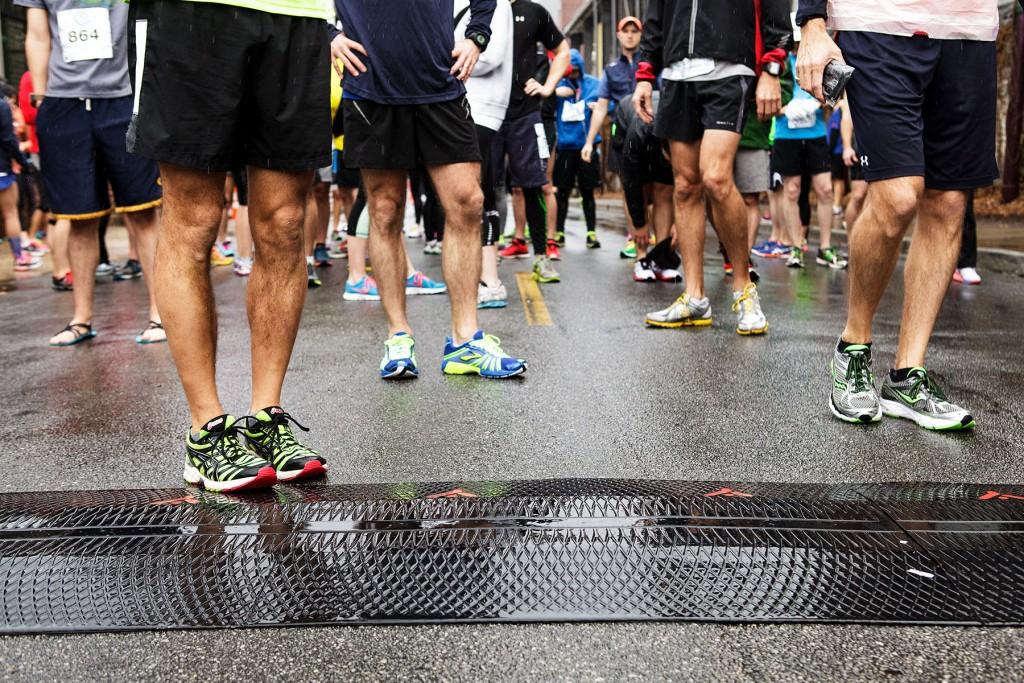 Atlanta BeltLine East Side Trail 10K 2014 - shoes