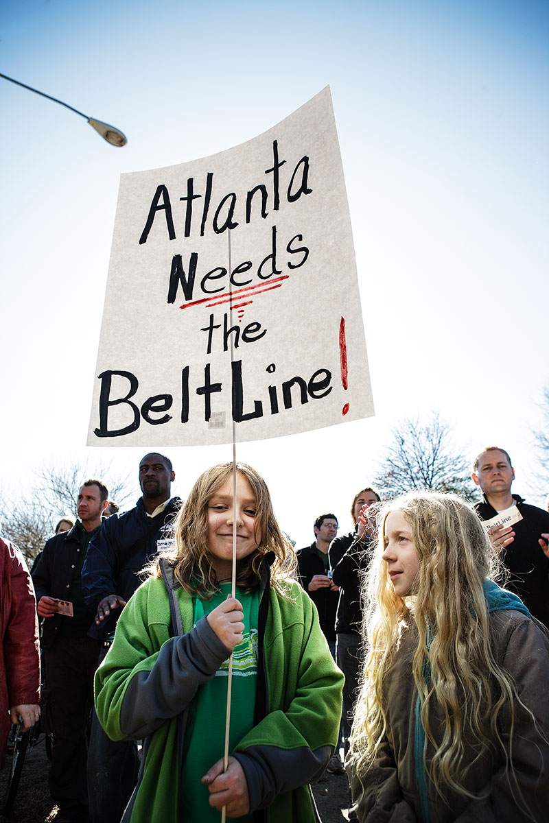 NE BeltLine Rally Christopher T Martin Photography, Atlanta GA